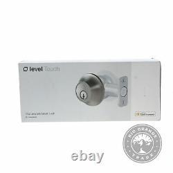 OPEN BOX Level C-L12U Touch Edition Keyless Entry Smart Lock in Satin Nickel