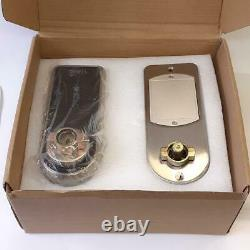 Owell Keyless Door Lock Boxed Smart Digital Keypad Fingerprint Set Untested