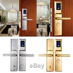 RFID Cards Biometric Fingerprint Lock Door Lock Smart Home Keyless Entry+ 2 keys