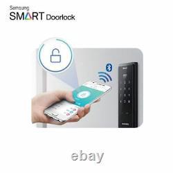 SAMSUNG Keyless Handle Touch Bluetooth Digital IOT Door Lock SHP-DH520 Express