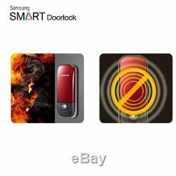 SAMSUNG Keyless Sliding Smart Digital Door Lock SHS-D211 4Touch-keys Express