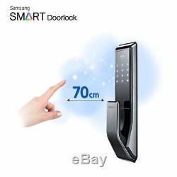 SAMSUNG Keyless Smart Digital Door lock Push&Pull SHP-DP710 + 2 key tags Express
