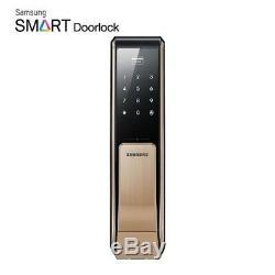 SAMSUNG Keyless Smart Digital Door lock Push&Pull SHP-DP810 + 2 keytags Express