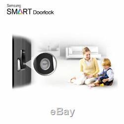 SAMSUNG Keyless Smart Digital Door lock Push&Pull SHP-P520 + 2 keytags Express