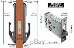 SAMSUNG SHS-P710 Key Less PUSH PULL Digital Smart Door Lock with 2EA Key-tags