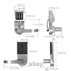 SMART Keyless Waterproof Door Lock Mechanical Digital Security Entry Keypad