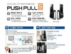 Samsung EZON SHS-P520 Keyless Digital Smart Door lock Push Inside Pull Outside