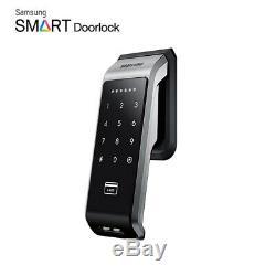 Samsung SDS SHS-P510 Push Pull Handle Keyless Digital Smart Door Lock Mortise
