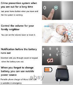Samsung smart fingerprint lock keyless lock Dp960 push-pull lock +6 tag keys DHL