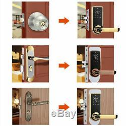 Security Electronic Door Lock Smart Touch Screen Digital Code Keypad Keyless