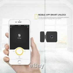 Sherlock F1 Fingerprint Lock Smart Lock Glass Door Keyless With Bluetooth APP
