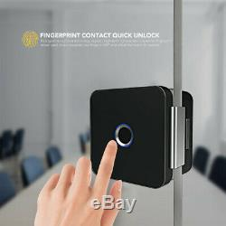 Sherlock Smart Lock Glass Door Lock Office Keyless Fingerprint bluetooth APP Rem