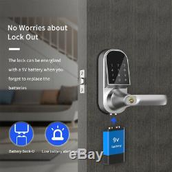 Smart Bluetooth Door Lock Deadbolt Lock Touchscreen Keyless Entry for Apartment