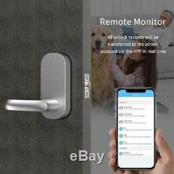 Smart Bluetooth Door Lock Keyless Entry App control Keyless Entry for Front Door
