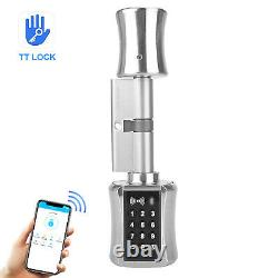 Smart Cylinder Lock With TTLock APP Keyless Electronic Door Lock BT Digital J3S2