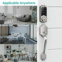 Smart Deadbolt Locks with Keypad hornbill Keyless Entry Digital Front Door Lo