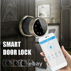 Smart Digital Door Lock Battery Powered APP Touch Password Keyless Latc