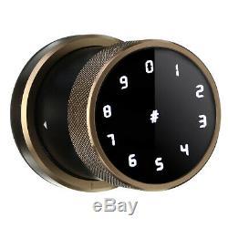 Smart Digital Door Lock Battery Powered APP Touch Password Keyless Latch Securit