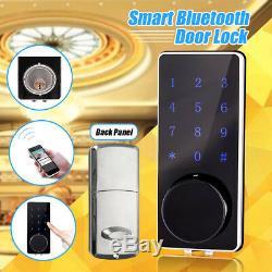 Smart Digital Door Lock bluetooth Keyless Touch Password APP Deadbolt Security