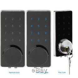 Smart Digital Door Lock bluetooth Keyless Touch Password APP Key Security