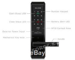 Smart Digital Doorlock Buildone BO-D3000SK Keyless Lock Pin+RFID+Mechanical Key
