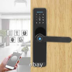 Smart Digital Electronic Door Lock Fingerprint Touch Password Keyless Keypad APP