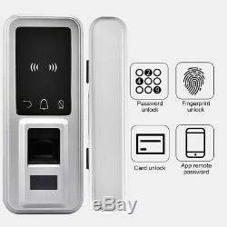Smart Digital Electronic Door Lock Fingerprint Touch Password Keypad Keyless