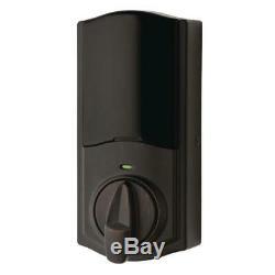 Smart Door Lock Conversion Kit Venetian Bronze Z Wave Technology Keyless Alexa