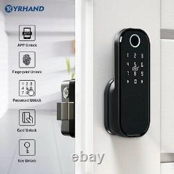 Smart Door Lock Fingerprint Electronic Code Keyless Keypad Security Home Entry