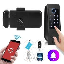 Smart Door Lock Fingerprint Password Bluetooth Remote Keyless Keypad Waterproof