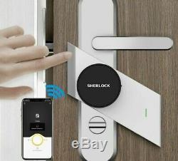 Smart Door Lock Fingerprint Password Security Bluetooth Controled Keylesslock