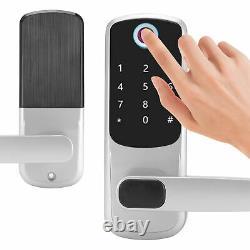 Smart Door Lock Handle Fingerprint+Password+Bluetooth + RFID Keyless Padlock