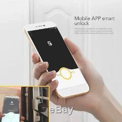 Smart Door Lock Home Keyless Fingerprint Password Electronic Wireless Appcontrol