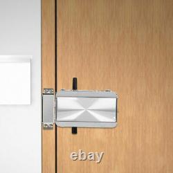 Smart Electric Security Door Lock Bluetooth APP Remote Control Unlock Keyless SS