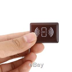 Smart Electronic Digital Door Lock Code Keyless Keypad Security Entry +2 Key Tag