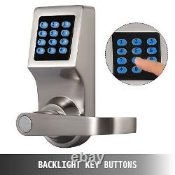 Smart Electronic Digital Door Lock Code Keyless Keypad Security Entry M1 Card