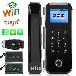 Smart Electronic Door Lock Digital Security Keypad Fingerprint&Password&Card&APP