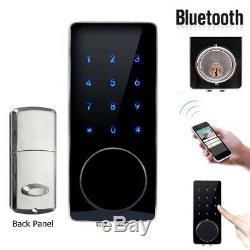 Smart Electronic Keyless Door Lock bluetooth Touch Password APP Home Security