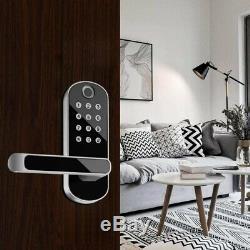 Smart Fingerprint Door Lock Bluetooth Unlock Entry Keyless for Apartment Office