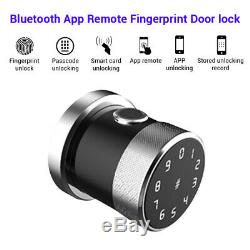 Smart Fingerprint Door Lock Doorlock Phone App IC card Unlock Keyless Waterproof