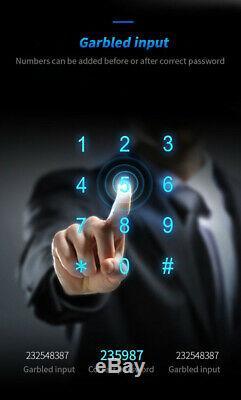 Smart Fingerprint Door Lock IC card Unlock Keyless Waterproof Home Security Lock