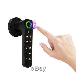 Smart Fingerprint Door Lock Keyless Unlock Password Keypad for Office Indoor Use