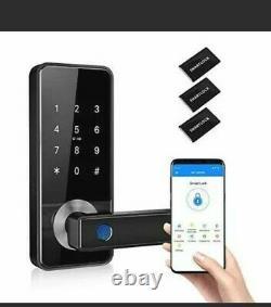 Smart Fingerprint Door Lock Touch, 5-in-1 Keyless Entry ID CARD WIFI Bluetooth