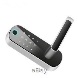 Smart Fingerprint Door Lock Wifi Code AI Voice Control Keyless for Shop Office