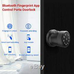 Smart Fingerprint Doors Lock Passwort Bluetooth-Karte Entsperrcode Keyless Lock