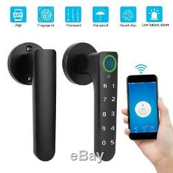 Smart Fingerprint Lock Bluetooth APP Password Keyless Door Lock Home Security