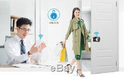 Smart Keyless Door Lock Passcode IC card Unlock USB Charging Touch Screen Keypad