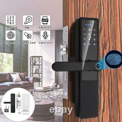 Smart Keyless Door Lock Security Electronic Password Keypad Card Fingerprint