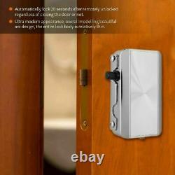 Smart Keyless Electronic Door Lock Wireless Home Security Lock Remote Control