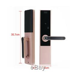Smart Lock Digital Electronic Code Door Lock APP Touchscreen Fingerprint Keyless